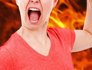 怒り 女性